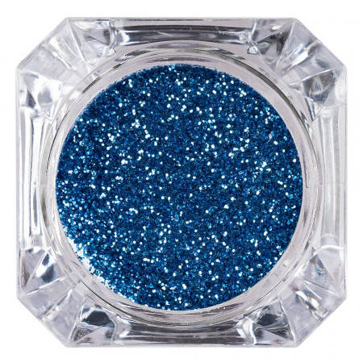 Poze Sclipici Glitter Unghii Pulbere Blue Day #42, LUXORISE