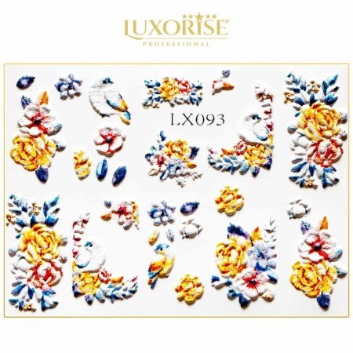 Poze Tatuaj 3D Unghii LUXORISE LX093 - Artistry