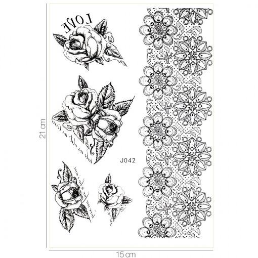 Poze Tatuaj Temporar LUXORISE Classic Ink J042