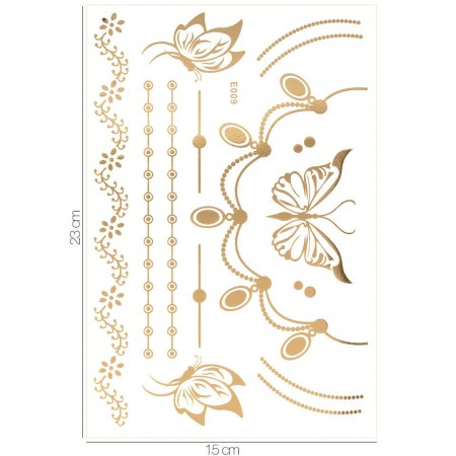 Poze Tatuaj Temporar LUXORISE Gold Edition E009