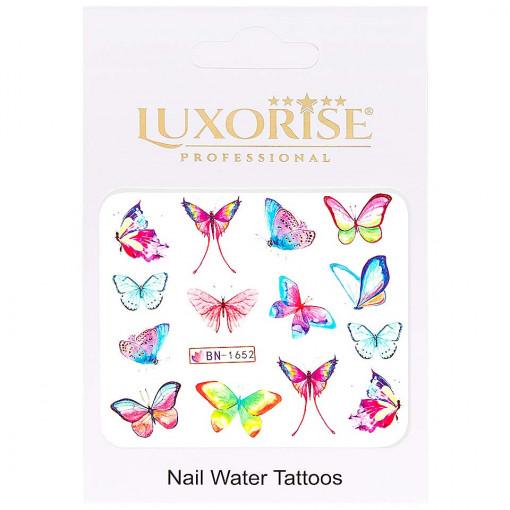 Poze Tatuaj Unghii Butterfly BN-1652, LUXORISE