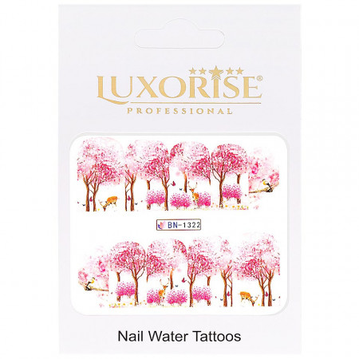 Poze Tatuaj Unghii Nature BN-1322, LUXORISE