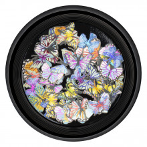 Decoratiuni Unghii Nail Art Butterfly Touch, LUXORISE