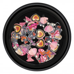 Decoratiuni Unghii Nail Art Love Shape, LUXORISE