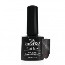 Oja Semipermanenta SensoPRO Cat Eye Intense Grey #041, 10ml