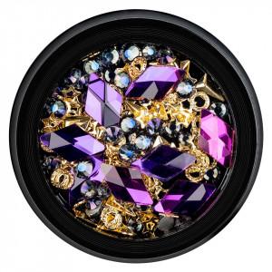 Strasuri Unghii LUXORISE Purple Prelude 08