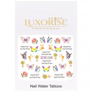 Tatuaj Unghii Butterfly BN-1544, LUXORISE