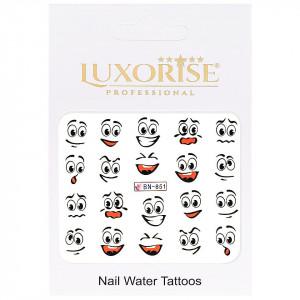 Tatuaj unghii Emotions BN-851, LUXORISE
