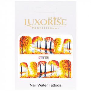 Tatuaj unghii GoldenFall BN-505, LUXORISE