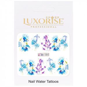 Tatuaj unghii Nature BN-1091, LUXORISE