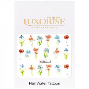 Tatuaj unghii Nature BN-1113, LUXORISE