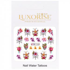 Tatuaj Unghii Nature BN-1187, LUXORISE