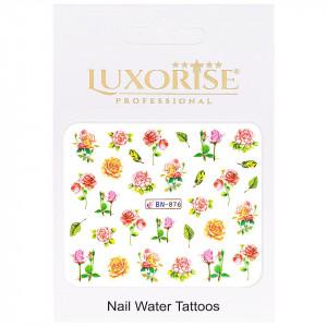 Tatuaj unghii Nature BN-876, LUXORISE