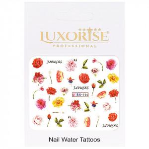 Tatuaj unghii Nature BN-930, LUXORISE
