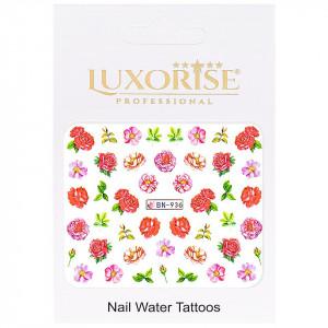 Tatuaj unghii Nature BN-936, LUXORISE