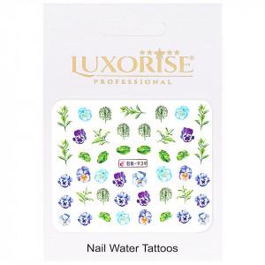 Tatuaj Unghii Nature BN-939, LUXORISE