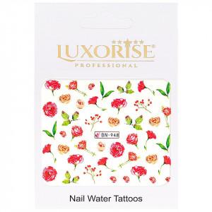 Tatuaj unghii Nature BN-948, LUXORISE