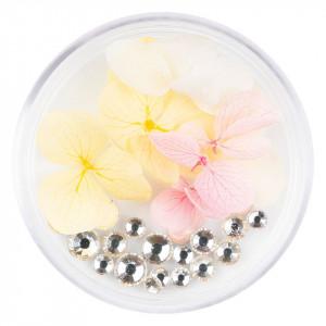 Flori Uscate Unghii cu cristale - Floral Fairytale #14 LUXORISE