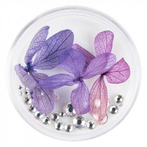 Flori Uscate Unghii cu cristale - Floral Fairytale #19 LUXORISE