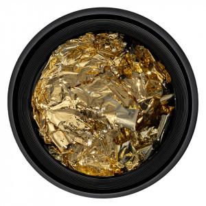 Foita Unghii Unique Gold Spark #02, LUXORISE