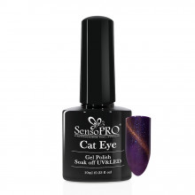 Oja Semipermanenta SensoPRO Cat Eye Mauve Glare #032, 10ml