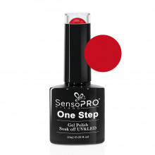 Oja Semipermanenta SensoPRO Milano One Step Russian Red #001, 10ml