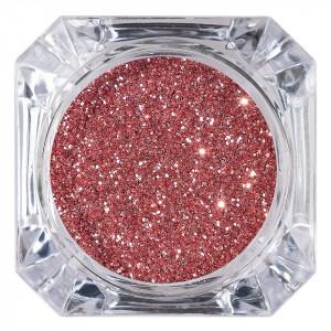 Sclipici Glitter Unghii Pulbere Rose #19, LUXORISE