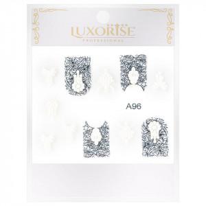 Sticker 3D Unghii Artistry A96, LUXORISE