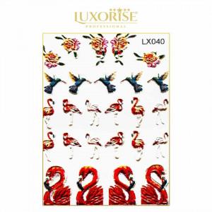 Tatuaj 3D Unghii LUXORISE LX040 - Adventure