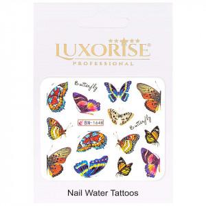 Tatuaj Unghii Butterfly BN-1648, LUXORISE