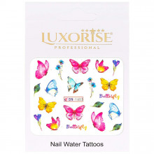 Tatuaj Unghii Butterfly BN-1653, LUXORISE