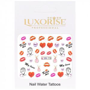 Tatuaj unghii Love BN-775, LUXORISE