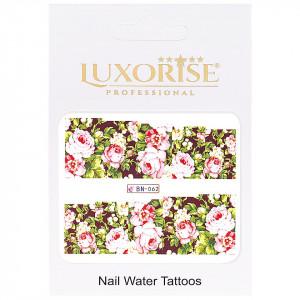 Tatuaj Unghii Nature BN-062, LUXORISE