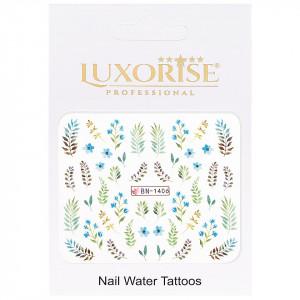 Tatuaj Unghii Nature BN-1406, LUXORISE
