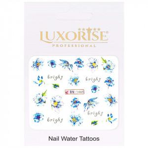 Tatuaj Unghii Nature BN-1465, LUXORISE