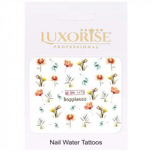 Tatuaj Unghii Nature BN-1475, LUXORISE