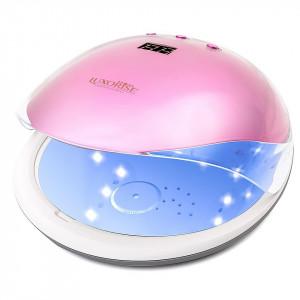 Lampa unghii UV LED 36W Crystal PRO LUXORISE, Roz Safir
