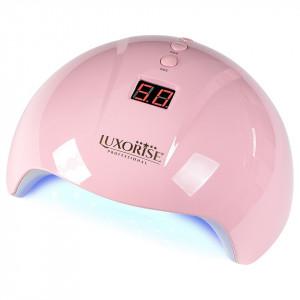 Lampa UV LED Perfect Nails Pro LUXORISE 24W, Roz