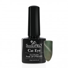 Oja Semipermanenta SensoPRO Cat Eye Fairy Green #033, 10ml