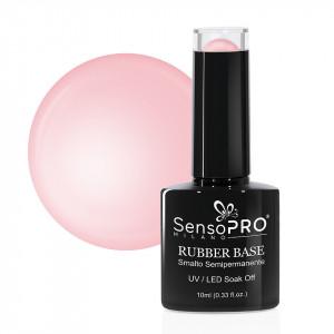 Rubber Base Gel SensoPRO Milano 10ml, Delicious Rose 18