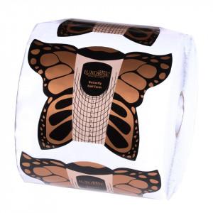 Sabloane Constructie Unghii Gel LUXORISE, Butterfly, 500 buc