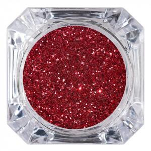 Sclipici Glitter Unghii Pulbere Wine Red #30, LUXORISE