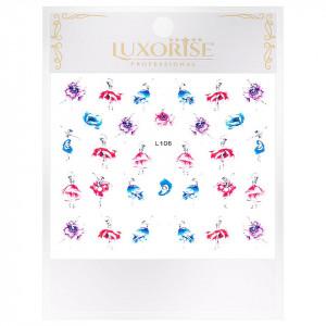 Sticker 3D Unghii Artistry L106, LUXORISE