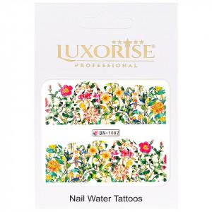 Tatuaj unghii Nature BN-1082, LUXORISE