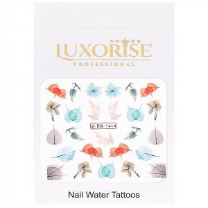 Tatuaj Unghii Nature BN-1414, LUXORISE