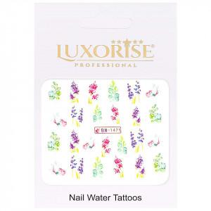Tatuaj Unghii Nature BN-1471, LUXORISE
