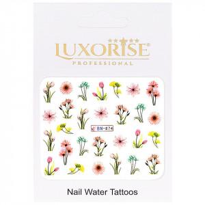 Tatuaj unghii Nature BN-874, LUXORISE