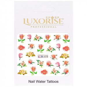 Tatuaj unghii Nature BN-875, LUXORISE