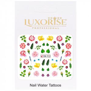 Tatuaj Unghii Nature BN-932, LUXORISE