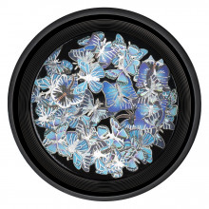 Decoratiuni Unghii Nail Art Butterfly Sky, LUXORISE